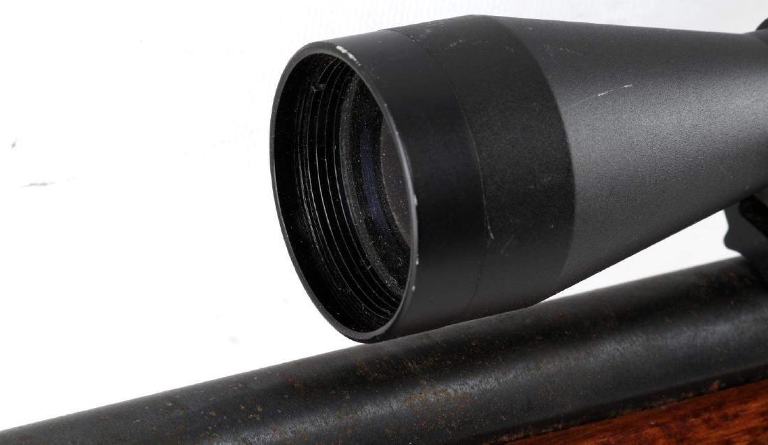 NEW ENGLAND ARMS SINGLE SHOT RIFLE W SCOPE .25 06 - 8