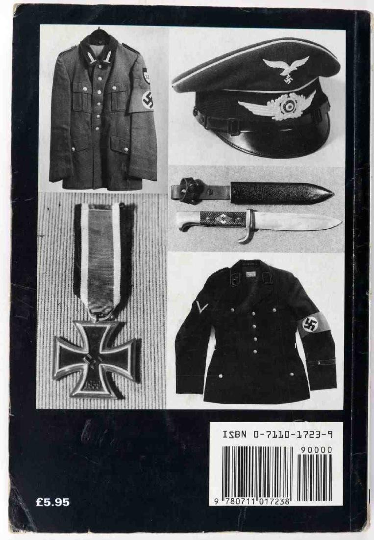 LOT OF 3 WWII MILITARY BOOKS GERMAN INSIGNIA GUIDE - 3