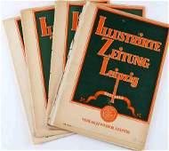WWII GERMAN WEEKLY MAGAZINE ILLUSTRIRTE ZEITUNG
