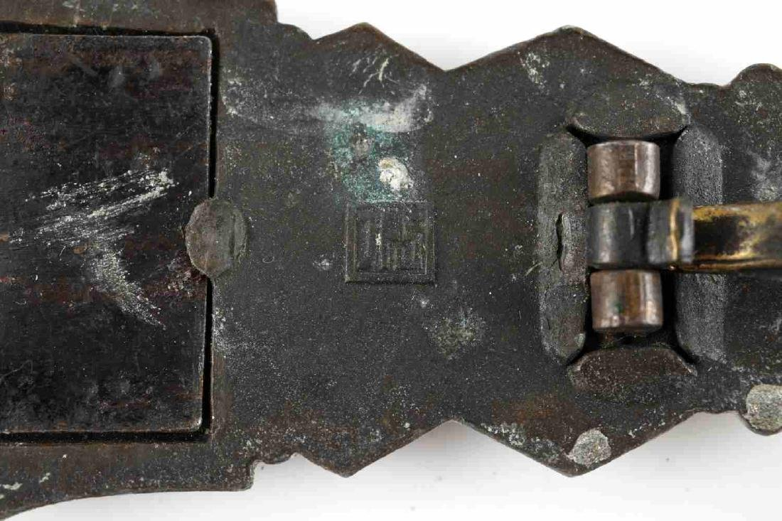 WWII GERMAN THIRD REICH CLOSE SILVER COMBAT CLASP - 5