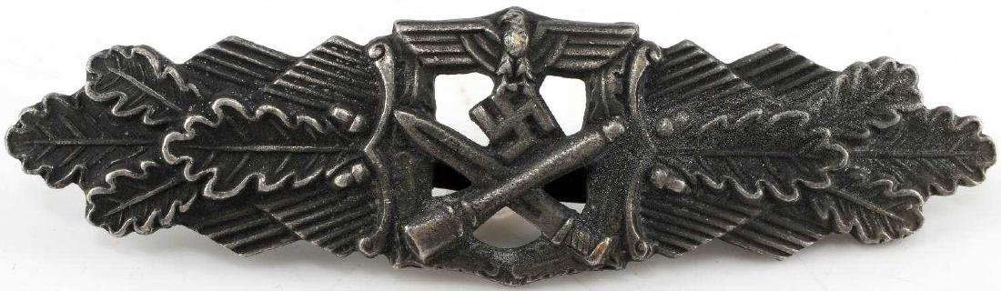 WWII GERMAN THIRD REICH BRONZE CLOSE COMBAT BADGE