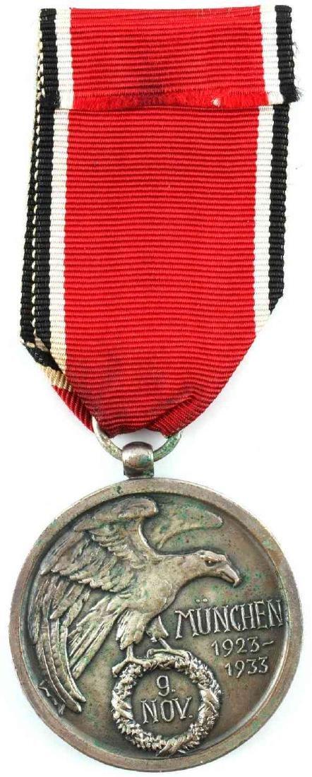 WWII GERMAN THIRD REICH NSDAP BLOOD ORDER MEDAL - 3
