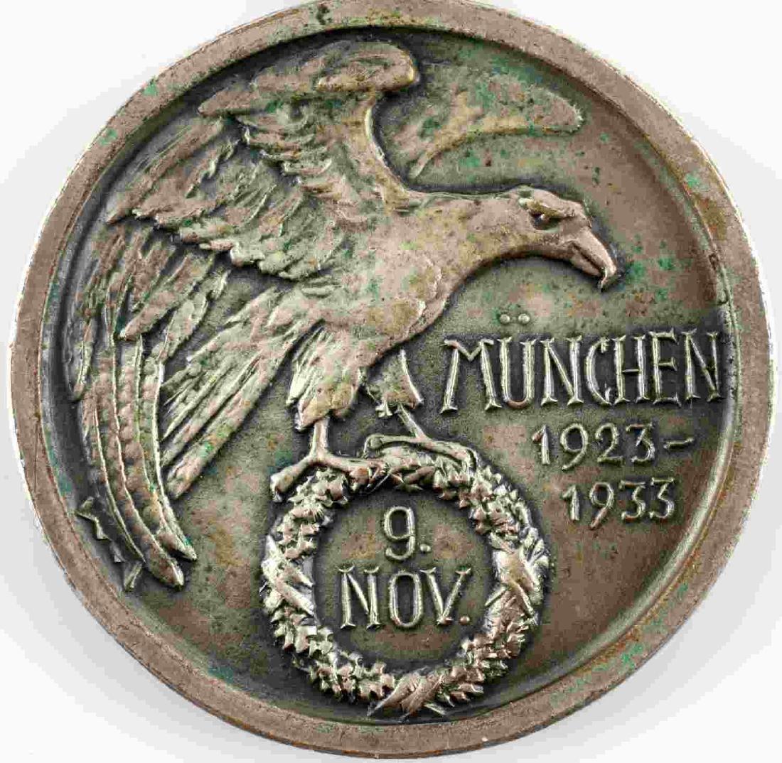 WWII GERMAN THIRD REICH NSDAP BLOOD ORDER MEDAL - 4