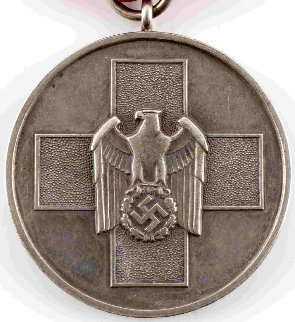 WWII GERMAN THIRD REICH SOCIAL WELFARE MEDAL - 2