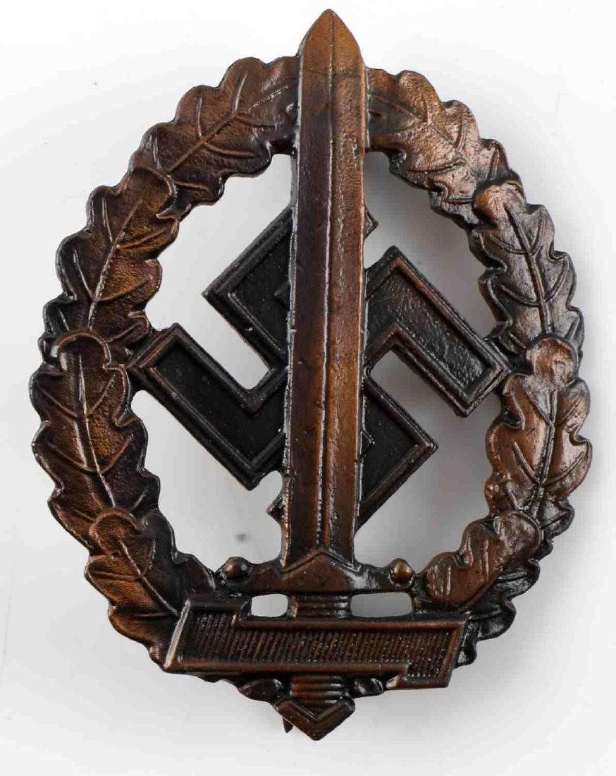 WWII GERMAN THIRD REICH SA SPORTS BADGE WOUNDED