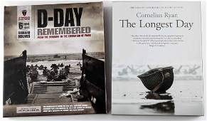 LOT OF 2 D DAY HARDCOVER PHOTO BOOKS RYAN HOLMES