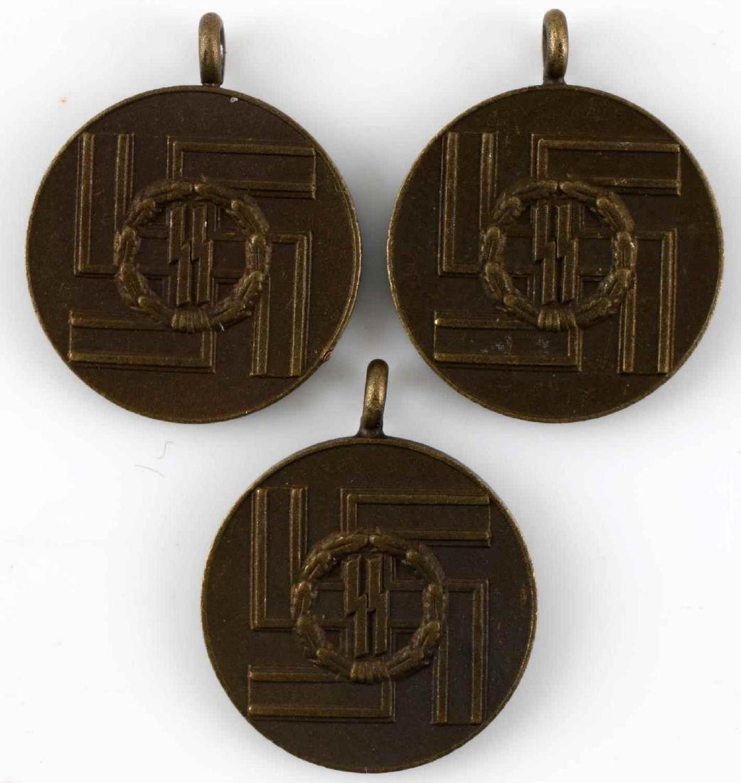 WWII GERMAN THIRD REICH SS LONG SERVICE MEDAL MINI