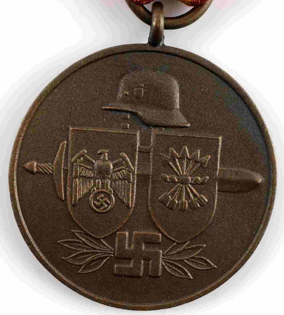 WWII GERMAN SPANISH VOLUNTEER BLUE DIVISION MEDAL - 2