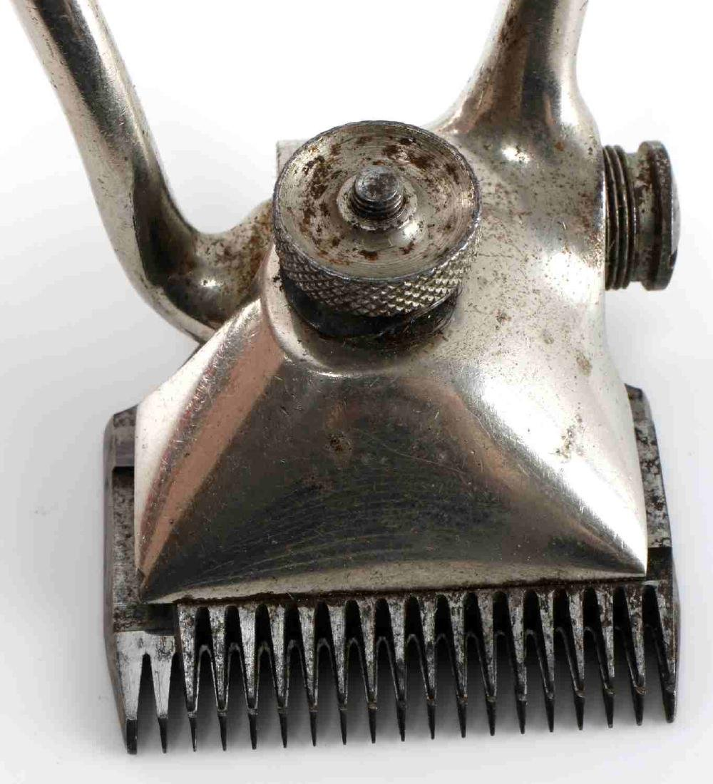 WWII GERMAN FLOSSENBURG SS MARKED HAIR CLIPPERS - 4