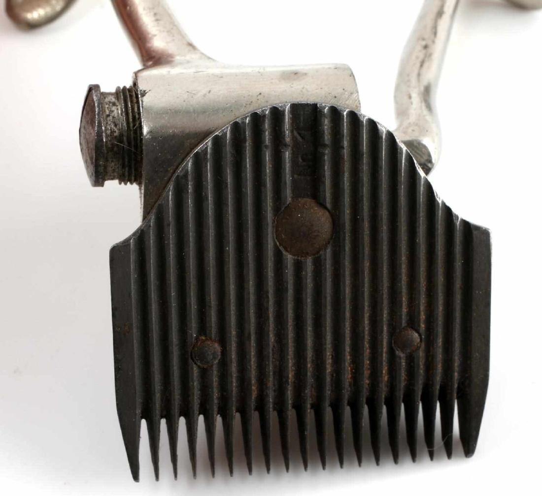 WWII GERMAN FLOSSENBURG SS MARKED HAIR CLIPPERS - 5
