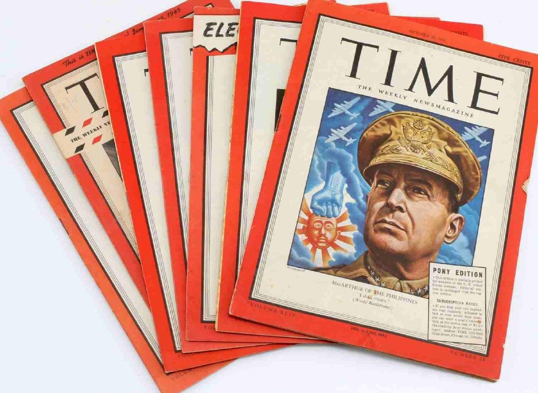 WWII & MORE MILITARY EPHEMERA NEWSPAPERS POSTER - 8