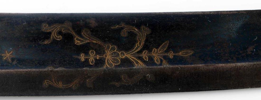 ANTIQUE 1812 WAR AMERICAN INFANTRY OFFICER SWORD - 5