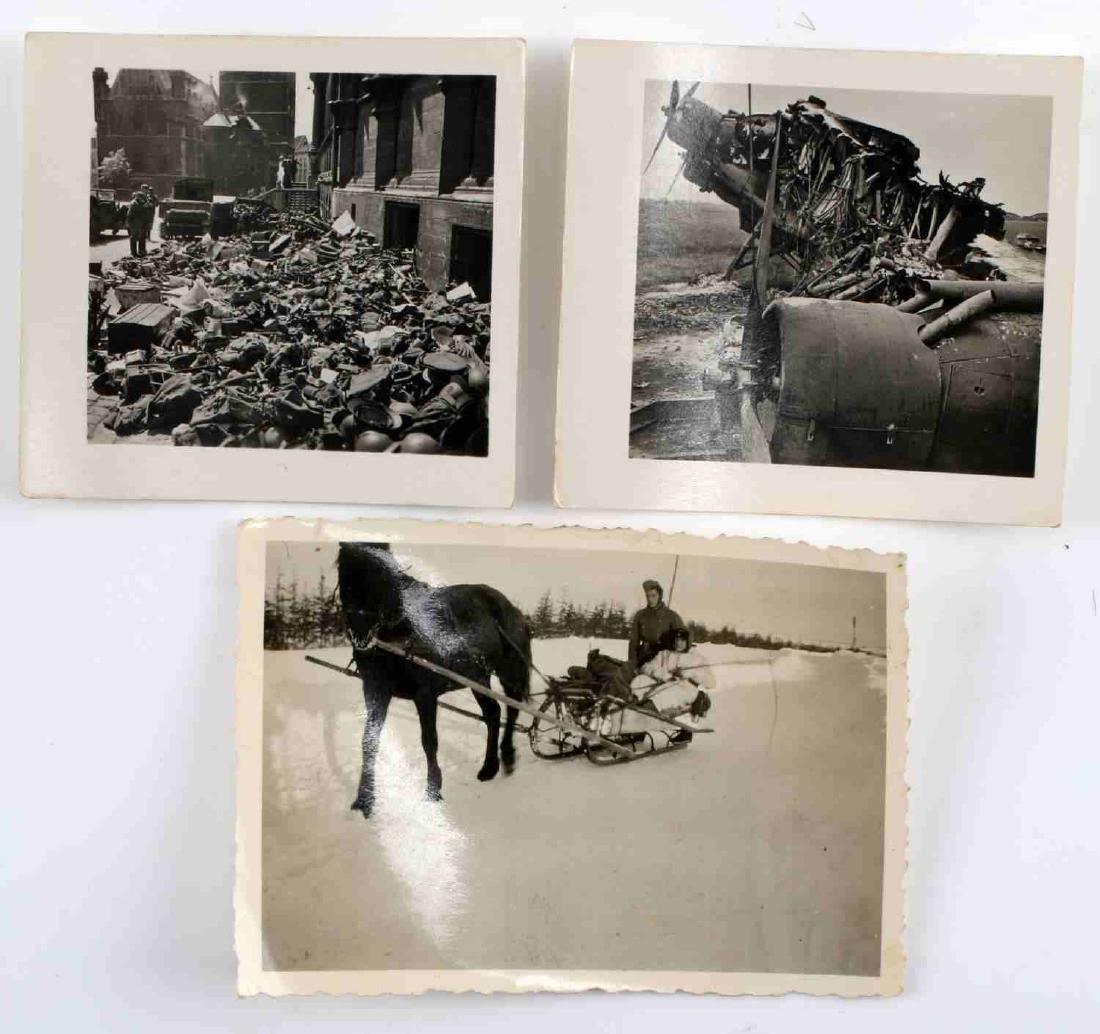 WWII GERMAN THIRD REICH WEHRMACHT PHOTO LOT - 6