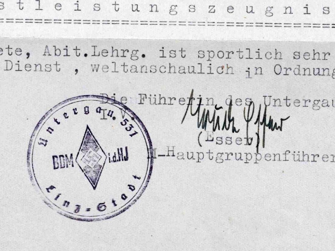 WWII GERMAN THIRD REICH UNCOMMON DOCUMENT LOT - 5