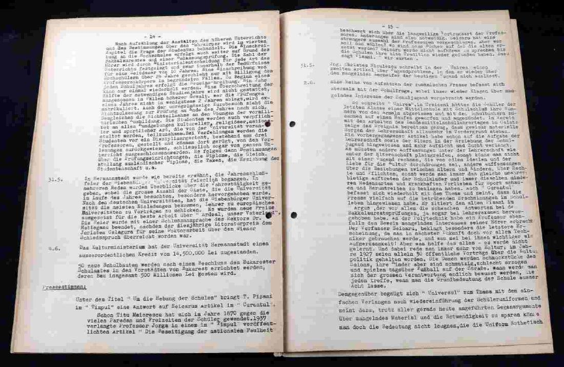 WWII GERMAN THIRD REICH UNCOMMON DOCUMENT LOT - 9