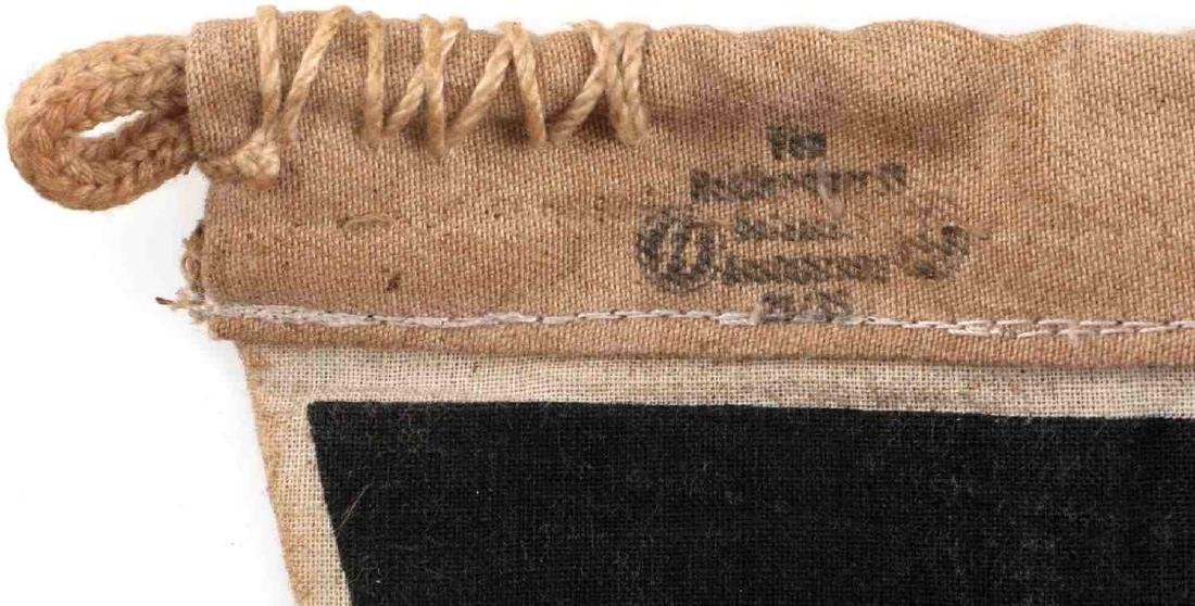 WWII GERMAN THIRD REICH SS FIELD COMMAND PENNANT - 4