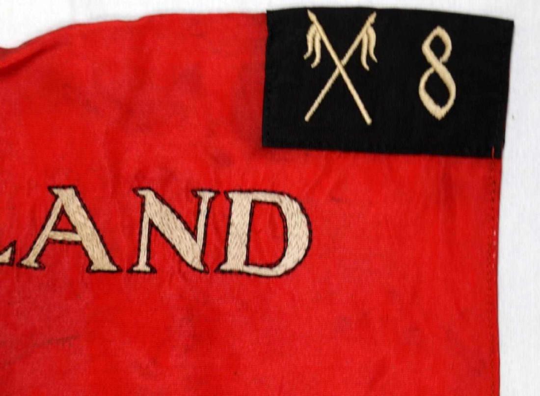 WWII GERMAN THIRD REICH SS SA CAVALRY STANDARD - 3