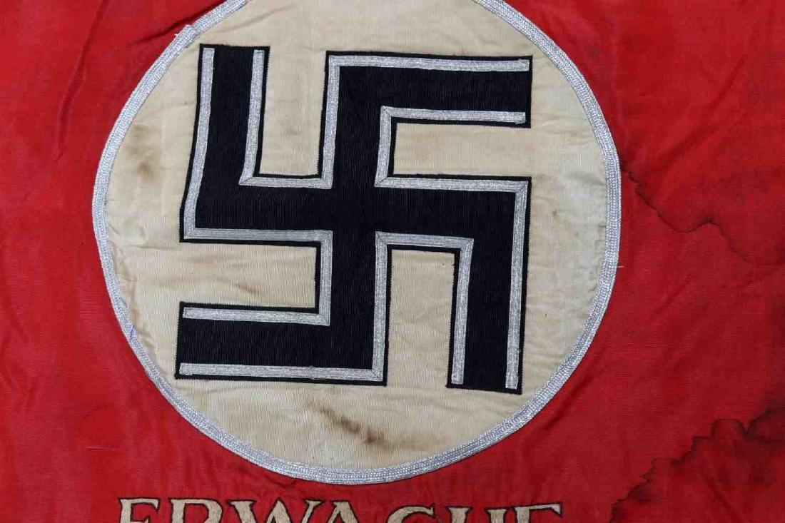 WWII GERMAN THIRD REICH SS SA CAVALRY STANDARD - 4