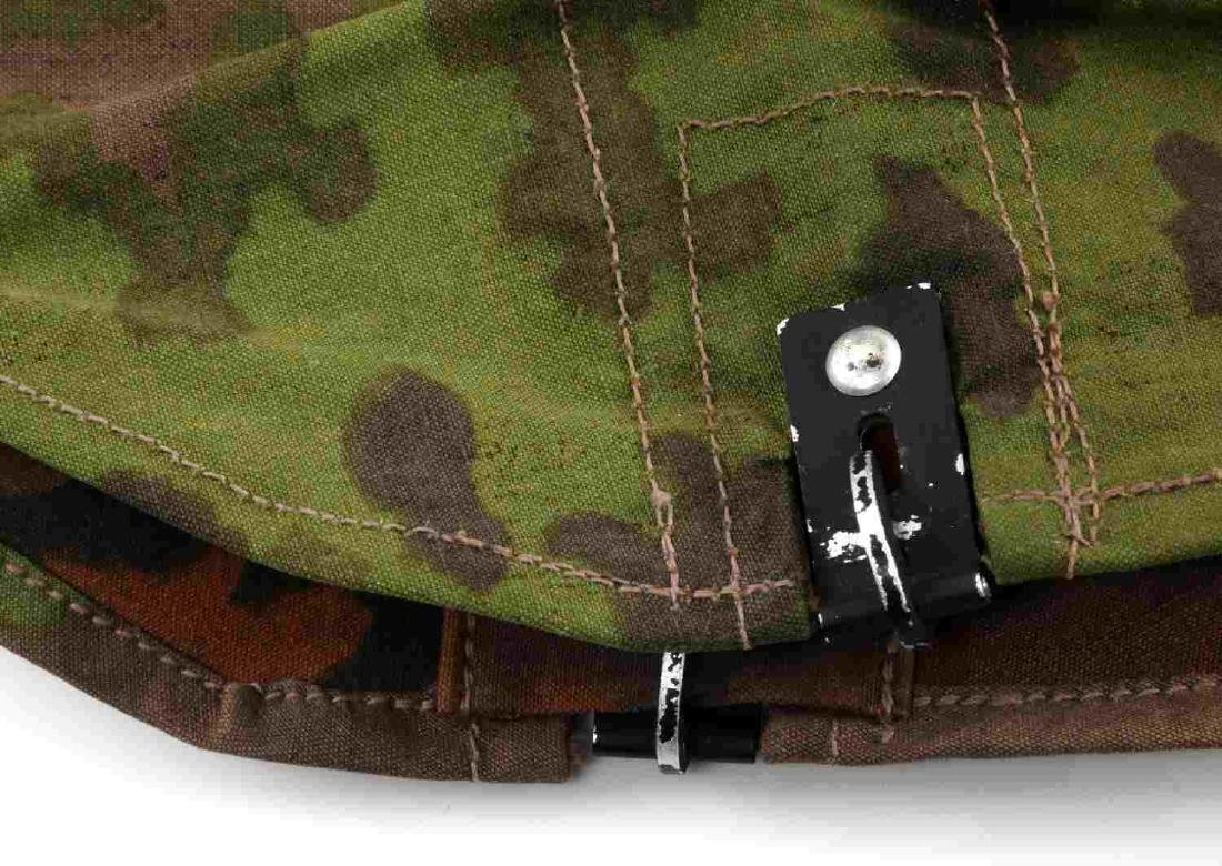 WWII GERMAN THIRD REICH SS CAMO HELMET COVER OAK - 2