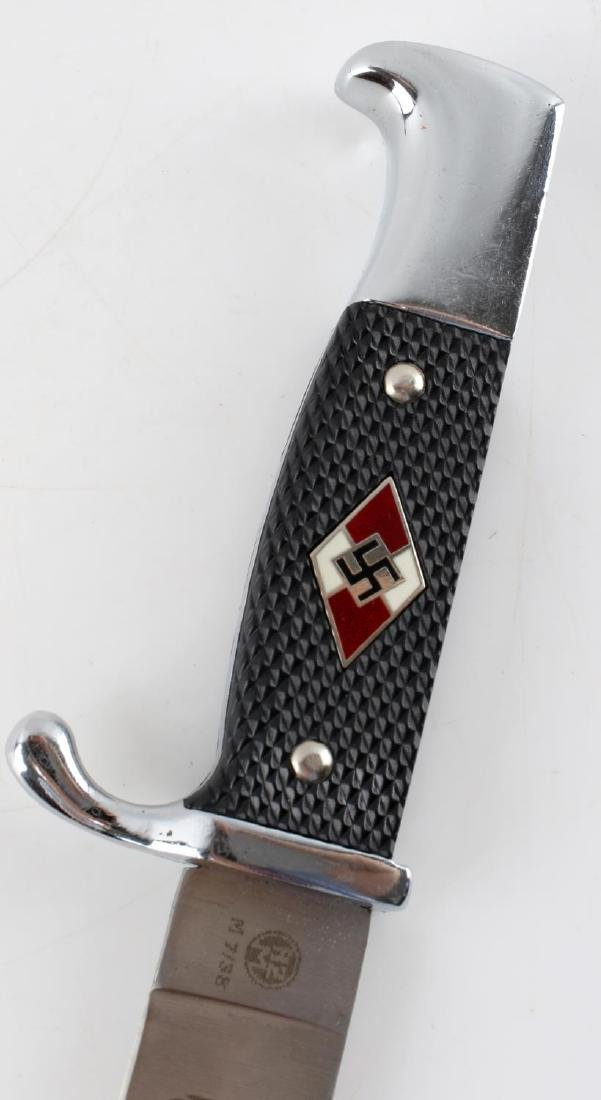 WWII GERMAN THIRD REICH REPLICA HITLER YOUTH KNIFE