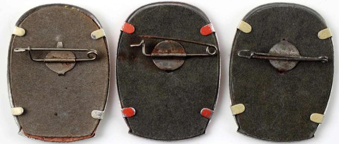 WWII THIRD REICH GERMAN TINNIES BADGES PINS LOT - 3