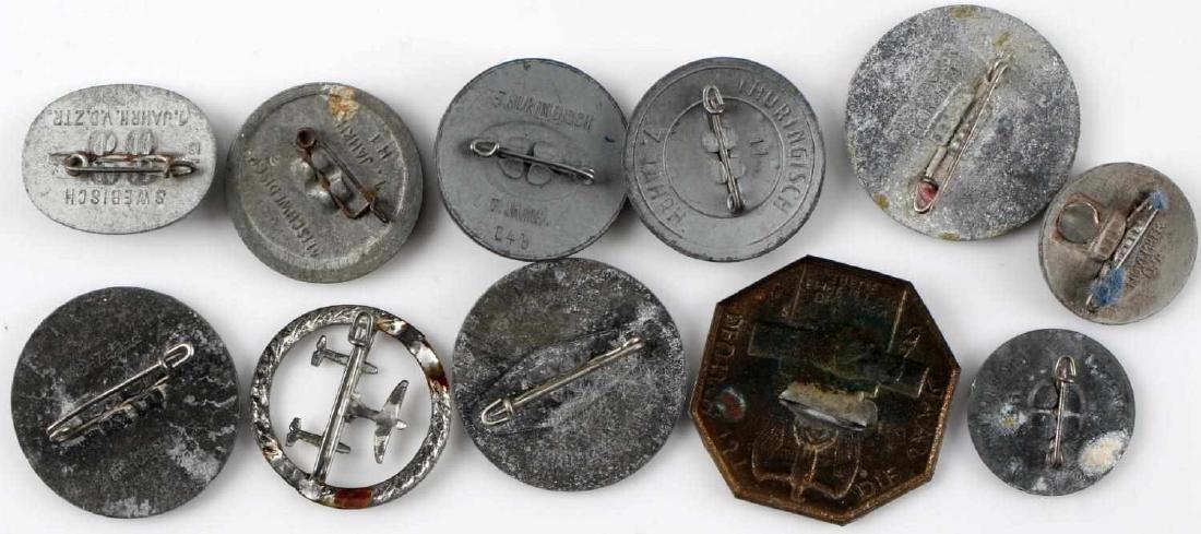 WWII THIRD REICH GERMAN TINNIES BADGES PINS LOT - 8