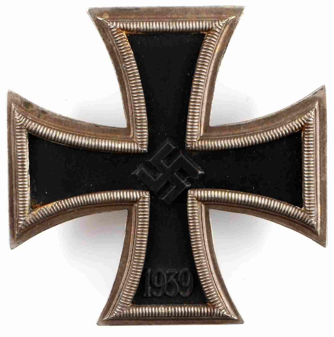WWII GERMAN THIRD REICH IRON CROSS 1ST CLASS