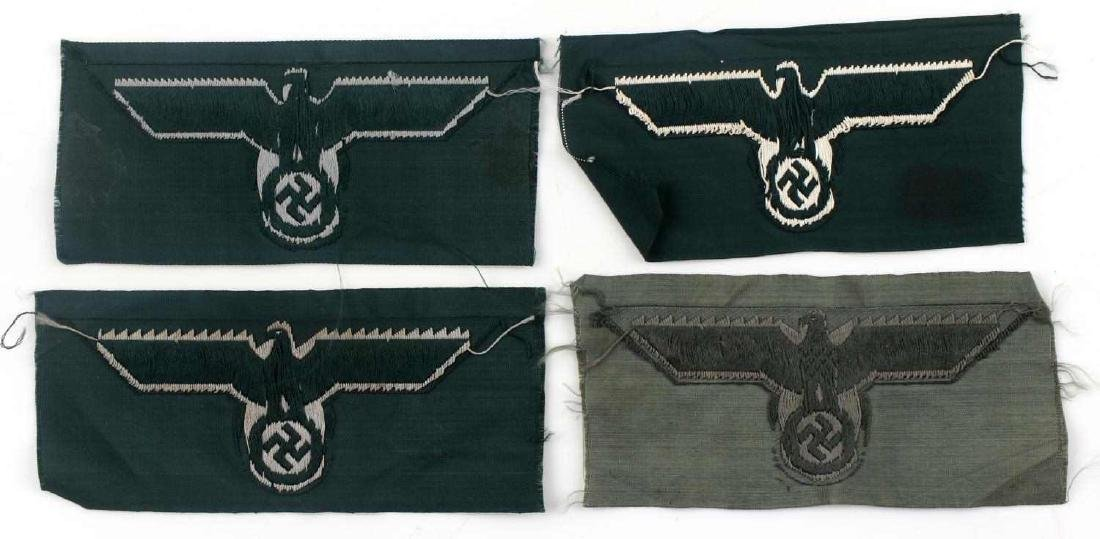 WWII GERMAN THIRD REICH REICHSADLER PATCH LOT - 3