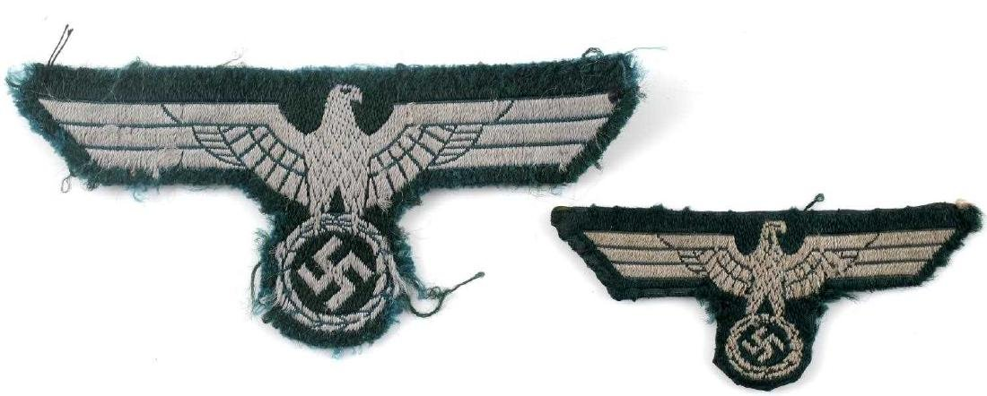 WWII GERMAN THIRD REICH REICHSADLER PATCH LOT - 6