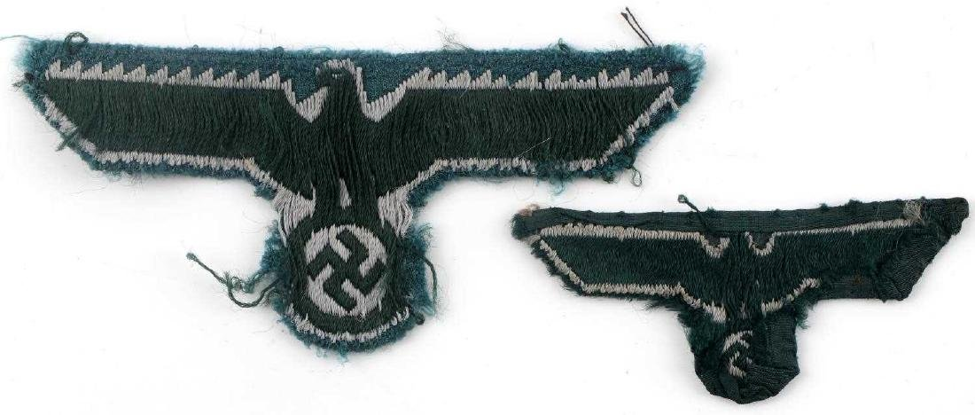WWII GERMAN THIRD REICH REICHSADLER PATCH LOT - 7