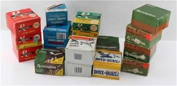 OVER 400 12 GAUGE SHOT SHELLS IN VINTAGE BOXES
