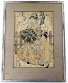 19TH TO 20TH C UKIYOE JAPANESE WOODBLOCK PRINT