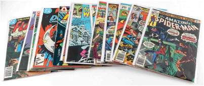 LOT 16 BRONZE AGE COMICS MARVEL DC ATLAS CHARLTON
