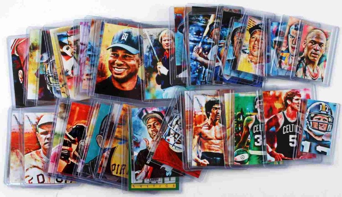 SPORT STAR ART CARD LIMITED EDITION LOT OF 40+