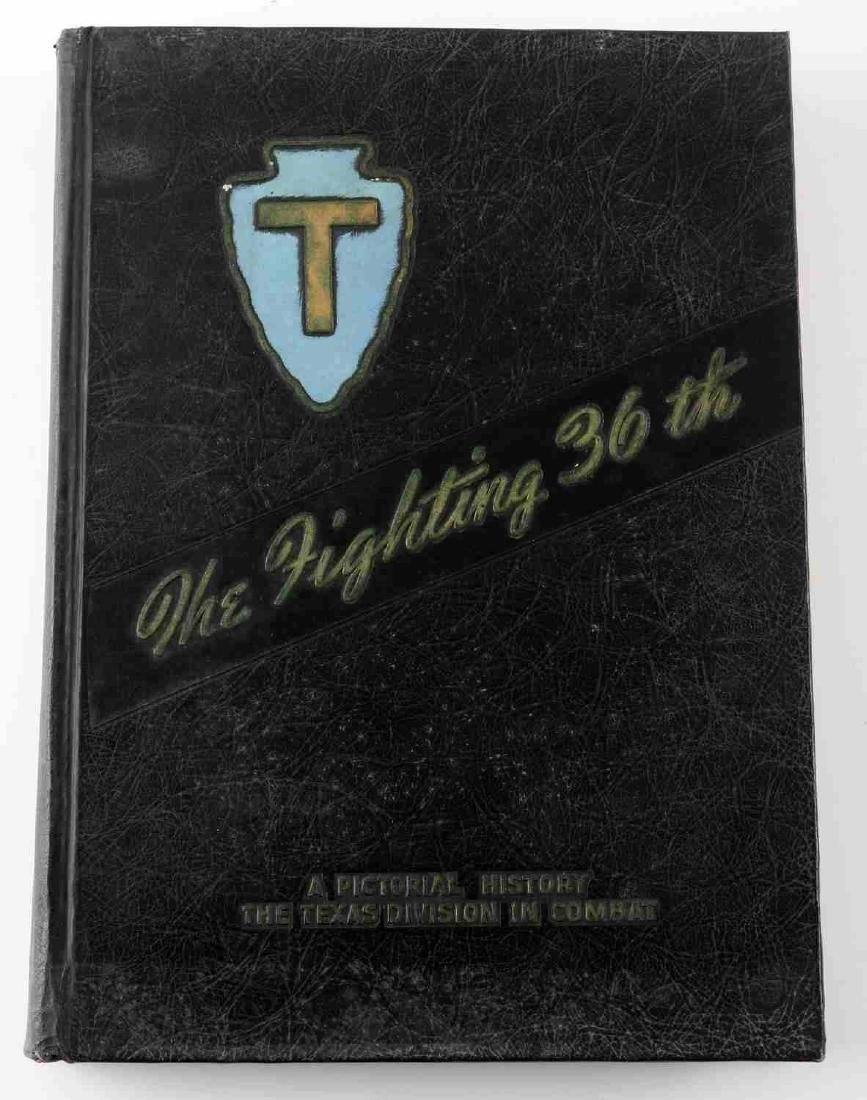 WWII US UNIT HISTORY BOOK THE FIGHTING 36TH