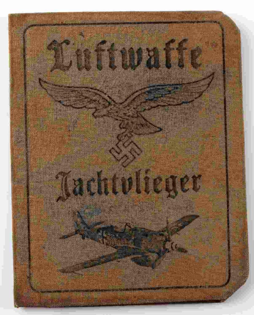 WWII GERMAN THIRD REICH LUFTWAFFE AUSWEIS ID