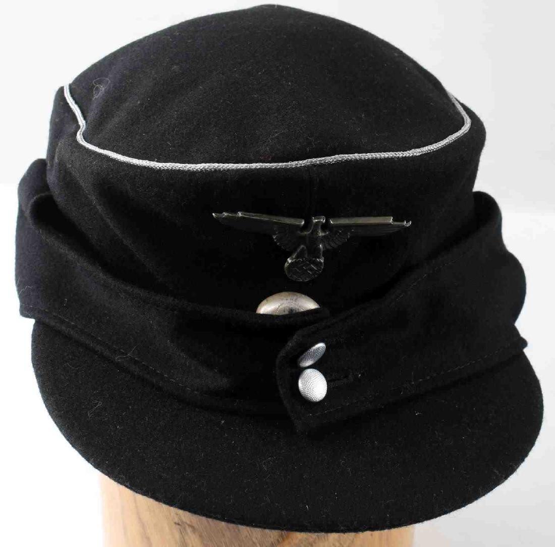 WWII GERMAN THIRD REICH SS M 43 FIELD CAP