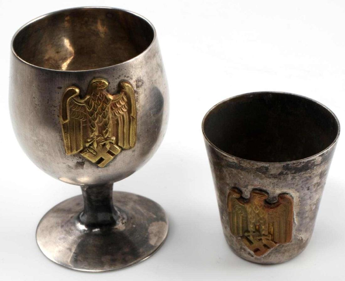 WWII GERMAN THIRD REICH HEER OFFICER SCHNAPPS CUP