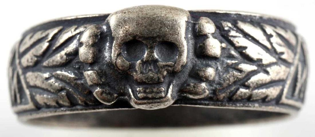 WWII GERMAN THIRD REICH SS HONOR RING