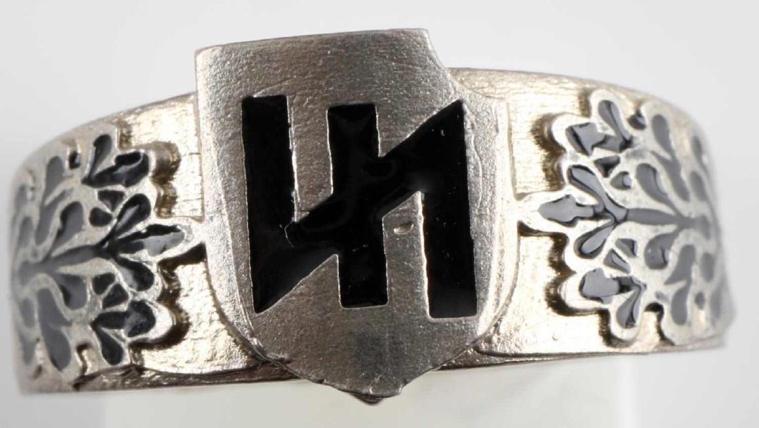 WWII GERMAN THIRD REICH SS DIVISION DAS REICH RING