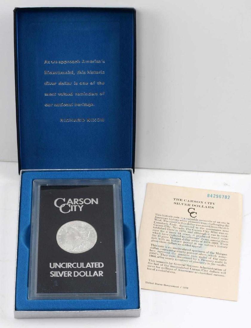 GSA 1884 CC CARSON CITY MORGAN SILVER DOLLAR BU