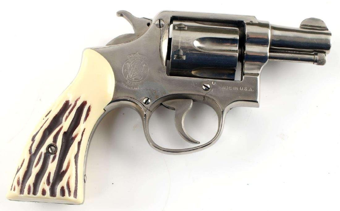 WWII US SMITH & WESSON VICTORY REVOLVER MODEL 10