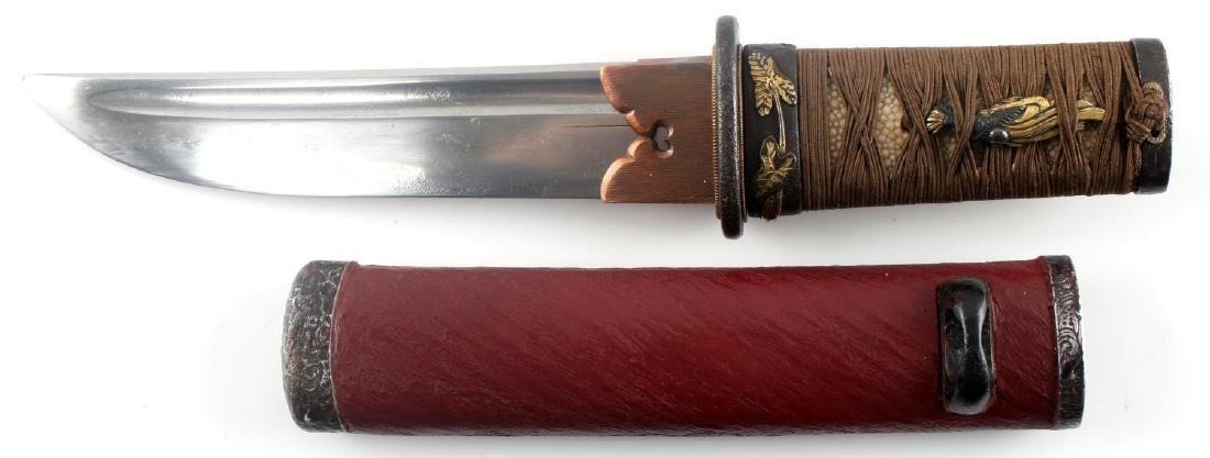 19TH CENTURY SAMURAI JAPANESE TANTO SWORD