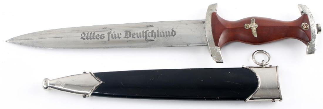 WWII GERMAN THIRD REICH NSKK TRANSITIONAL DAGGER