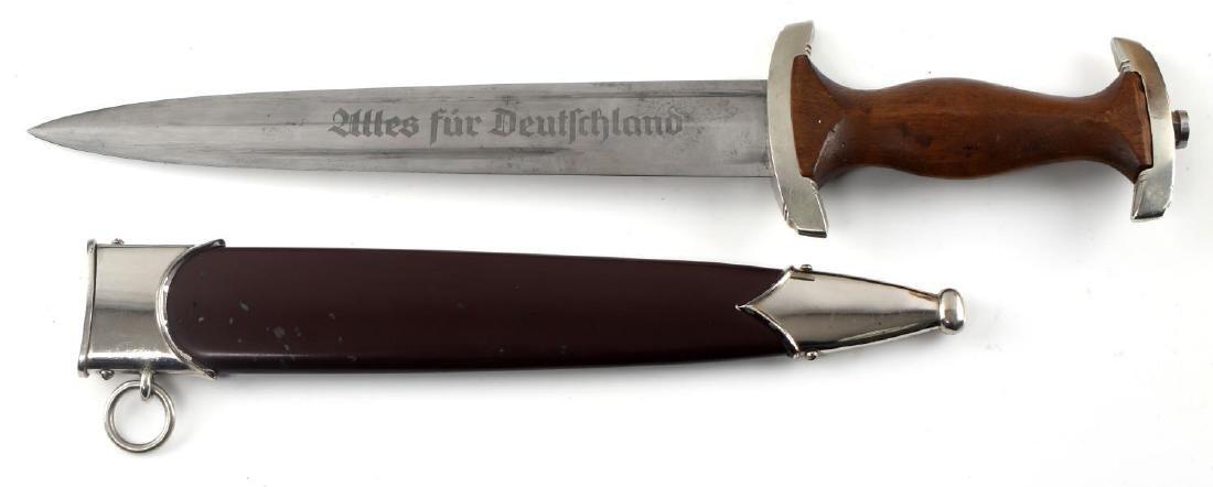 WWII GERMAN THIRD REICH SA DAGGER BY HENCKELS