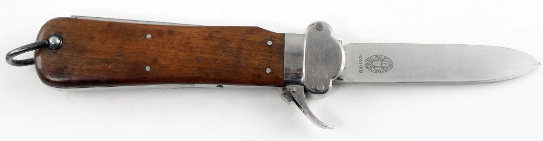 WWII GERMAN THIRD REICH PARATROOPER GRAVITY KNIFE