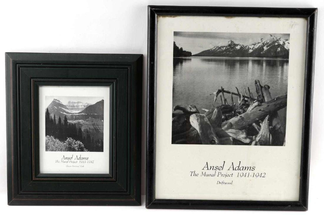 LOT OF TWO ANSEL ADAMS MURAL PROJECTS PRINTS