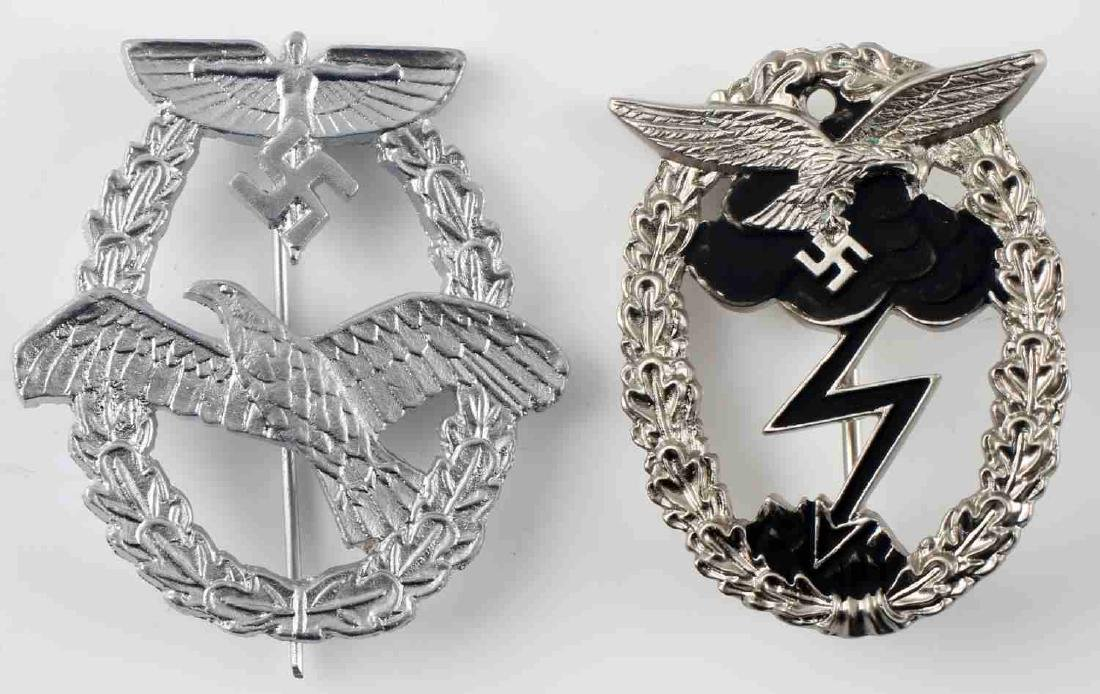 WWII GERMAN THIRD REICH AVIATION BADGE REPRO LOT