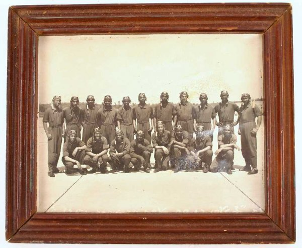 ORIGINAL WWII TUSKEGEE AIRMEN PHOTO DALE MABRY FIELD
