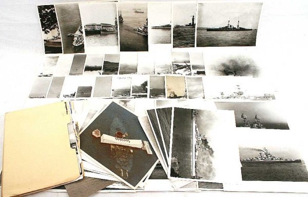 57 WWII US NAVY SHIP ID RECOGNITION PHOTO LOT